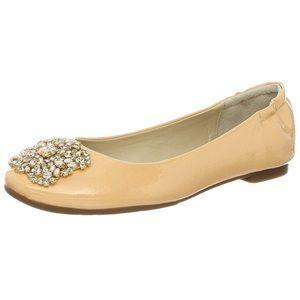 Adrienne Vittadini Sapphire Jeweled Flats